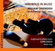 Amorous in Music - William Cavendih in Antwerp (1648-1660) cover