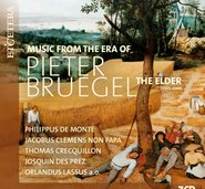 MUSIC FROM THE ERA OF PIETER BRUEGEL THE ELDER  cover