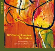 20th Century European Flute Music  cover