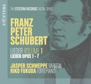 Franz Peter Schubert Lieder Volume 1 cover