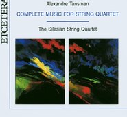 Complete Music for String Quartet cover
