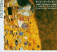 Music for Cello and Piano - F. Busoni cover