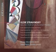 Igor Stravinsky: Music for Violin and Piano cover