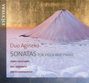 Sonatas for viola and piano cover