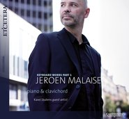 Jeroen Malaise: keyboard works part 1  cover