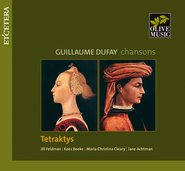 Chansons - G. Dufay cover