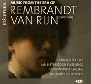 MUSIC FROM THE ERA OF REMBRANDT VAN RIJN cover