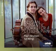 Belgian Romantic Works for Cello & Piano